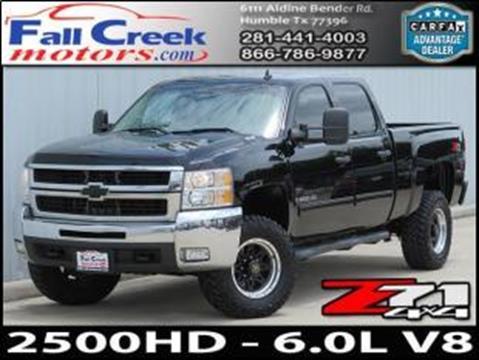 2009 Chevrolet Silverado 2500HD for sale in Humble, TX