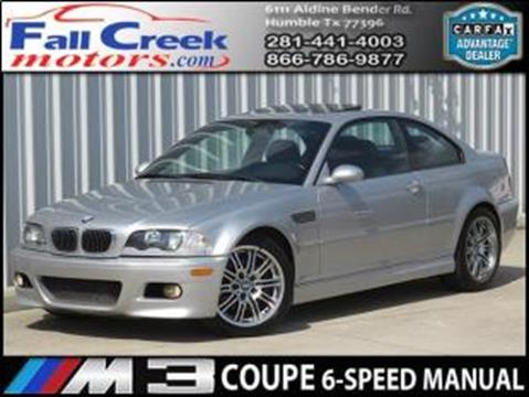 2001 BMW M3 for sale in Humble, TX