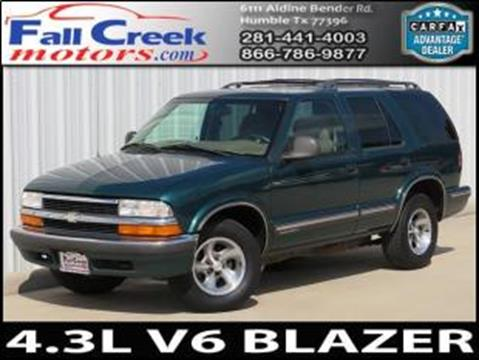 1998 Chevrolet Blazer for sale in Humble, TX