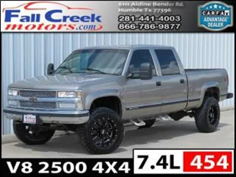 2000 Chevrolet C/K 2500 Series for sale in Humble, TX