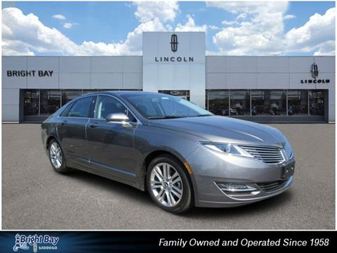 2014 Lincoln MKZ Hybrid for sale in Bay Shore NY