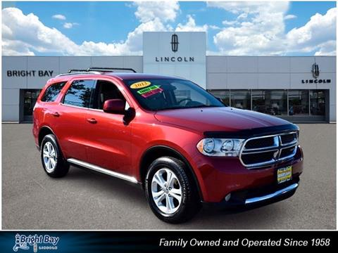 2013 Dodge Durango for sale in Bay Shore NY