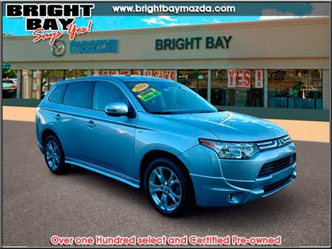 2014 Mitsubishi Outlander for sale in Bay Shore NY