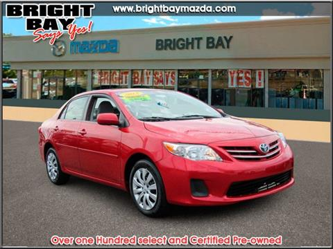 2013 Toyota Corolla for sale in Bay Shore NY