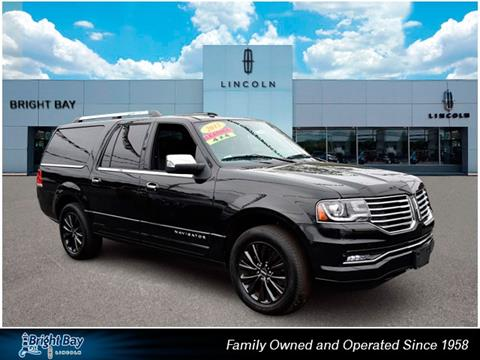2015 Lincoln Navigator L for sale in Bay Shore, NY