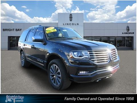 2015 Lincoln Navigator for sale in Bay Shore, NY