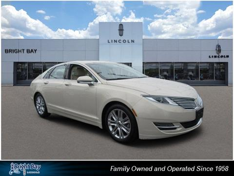 2015 Lincoln MKZ for sale in Bay Shore NY