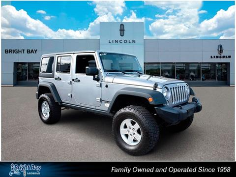 2015 Jeep Wrangler Unlimited for sale in Bay Shore NY