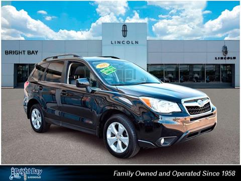 2015 Subaru Forester for sale in Bay Shore, NY