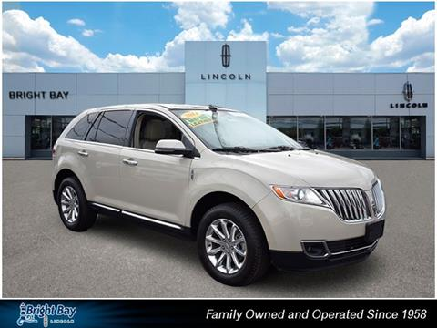 2014 Lincoln MKX for sale in Bay Shore NY