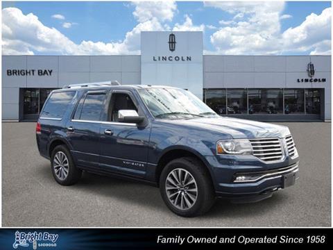2016 Lincoln Navigator for sale in Bay Shore NY