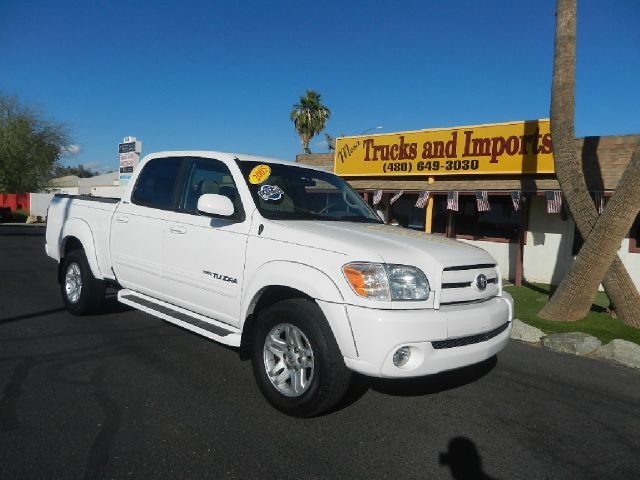 2005 TOYOTA TUNDRA LIMITED DOUBLE CAB 2WD white one owner originally purchased in az clean carfa