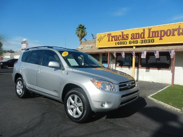2006 TOYOTA RAV4 LIMITED I4 2WD silver third seat clean carfax originally purchased az two in s