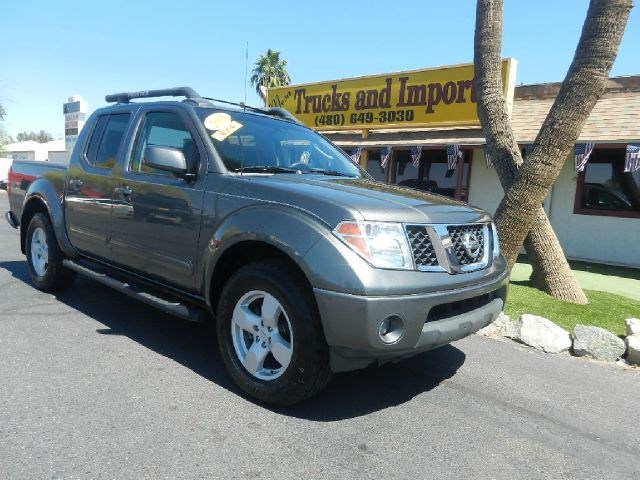 2005 NISSAN FRONTIER LE CREW CAB 4WD gray 4x4 clean carfax  excellent first truck for a teenager
