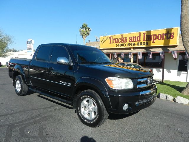 2006 TOYOTA TUNDRA SR5 DOUBLE CAB black trd off-road package sr5 model 19  mpg four doors clea