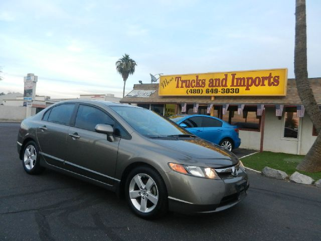 2007 HONDA CIVIC EX SEDAN AT WITH NAVIGATION sandstone 40 mpg one owner clean carfax shows all s