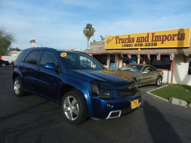 2008 CHEVROLET EQUINOX SPORT AWD blue clean carfax fully loaded power everything  excellent fir