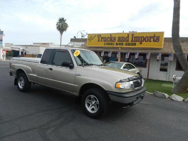 2000 MAZDA B-SERIES B3000 CAB PLUS 4 TROY LEE 2WD gold one owner only 92k miles 23 mpg four do