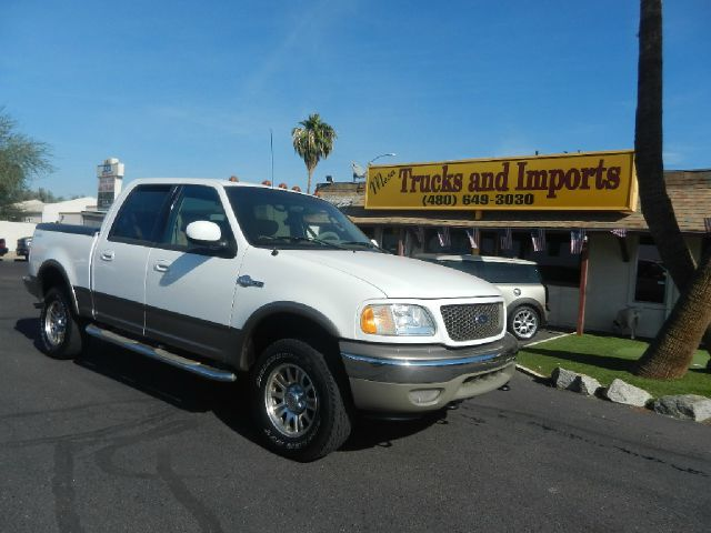 2003 FORD F150 KING RANCH SUPERCREW 4WD white 4x4 serpentine belt replaced 133k miles very nice