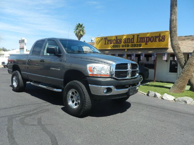 2006 DODGE RAM 1500 SLT QUAD CAB 4WD gray 4x4 trx-4 off road package originally purchased in cal