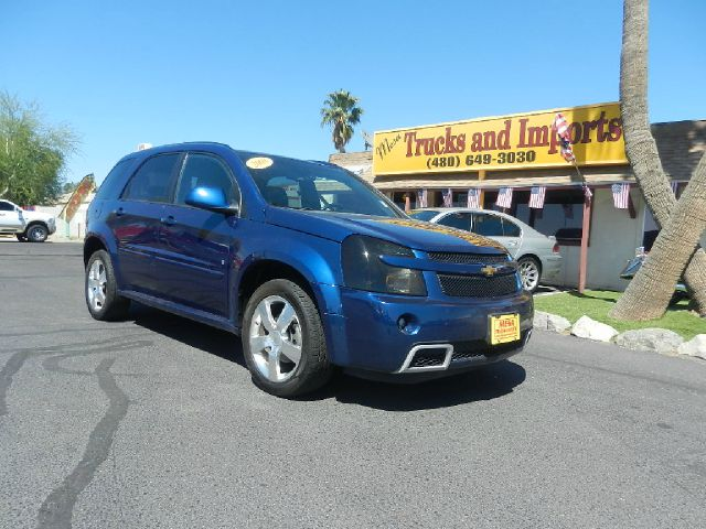 2008 CHEVROLET EQUINOX SPORT AWD blue clean carfax fully loaded power everything all-wheel-driv