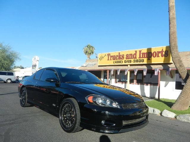 2006 CHEVROLET MONTE CARLO SS black v8 53 liter power 28 mpg clean carfax shows all service rec