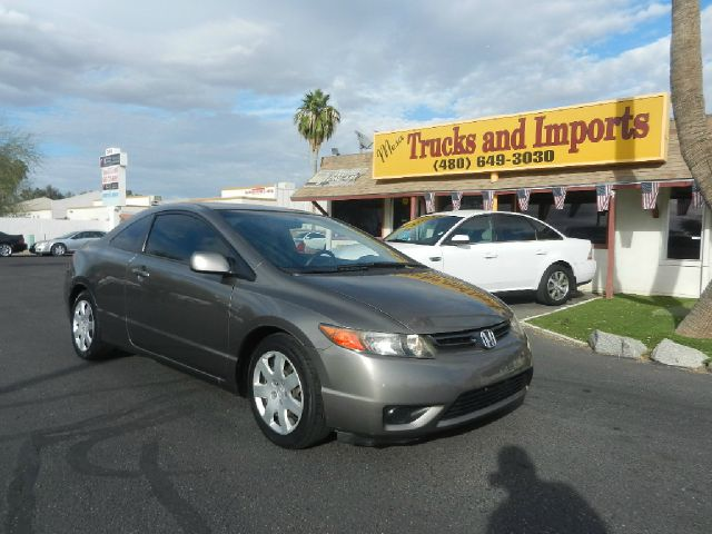 2007 HONDA CIVIC LX COUPE AT gray only 80k miles  clean carfax originally purchased in ca f