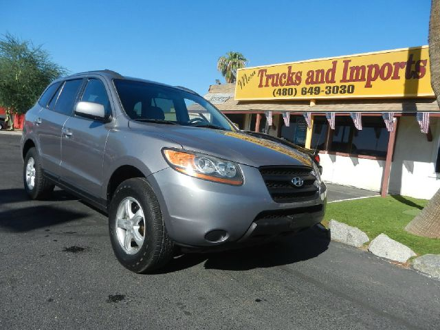 2008 HYUNDAI SANTA FE GLS AWD blue clean carfax v6 27 liter power side airbags for added safety