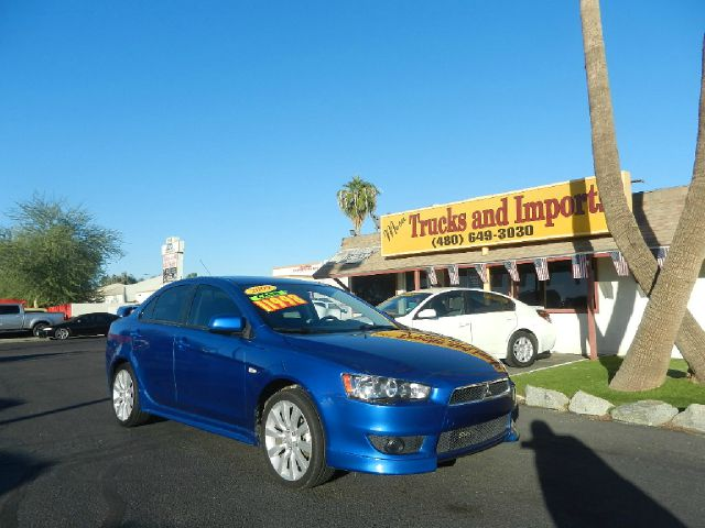 2009 MITSUBISHI LANCER GTS AWD blue one owner 28 mpg clean carfax  side airbags  excellent fir