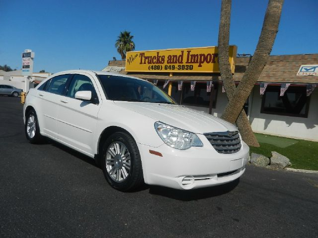 2007 CHRYSLER SEBRING TOURING white clean carfax shows detailed service records fully loaded sxt