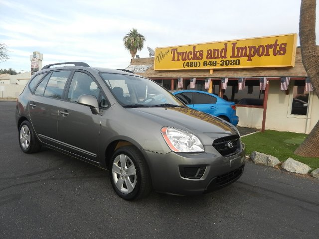 2009 KIA RONDO LX gray clean carfax 27 mpg  originally purchased in az fully loaded lx model s