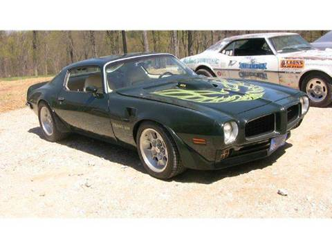 1973 pontiac firebird for sale for G stone motors middlebury vermont