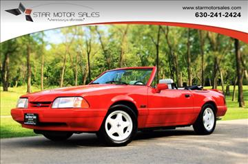 1992 Ford Mustang For Sale  Carsforsalecom