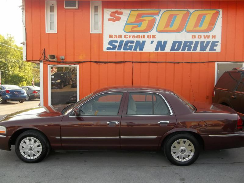 Mercury Grand Marquis For Sale In Knoxville Tn