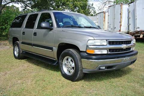 2002 Chevrolet Suburban for sale in Houston, TX