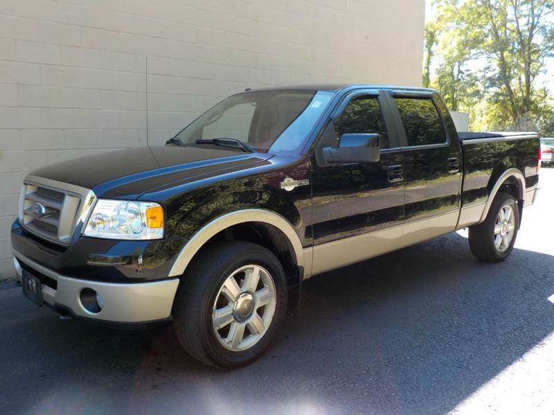 2008 ford f 150 king ranch 4x4 4dr supercrew styleside 6 5 ft sb in abington ma mass car mart. Black Bedroom Furniture Sets. Home Design Ideas