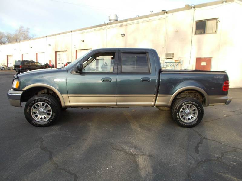 2002 ford f 150 king ranch 4dr supercrew 4wd styleside sb in abington ma mass car mart. Black Bedroom Furniture Sets. Home Design Ideas