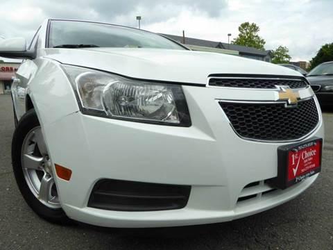 2011 Chevrolet Cruze for sale in Fairfax, VA
