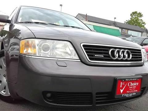 2001 Audi A6 for sale in Fairfax, VA