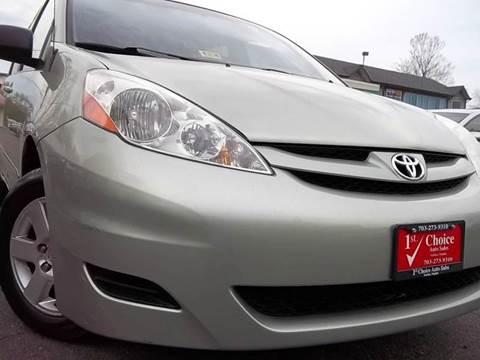 2006 Toyota Sienna for sale in Fairfax, VA