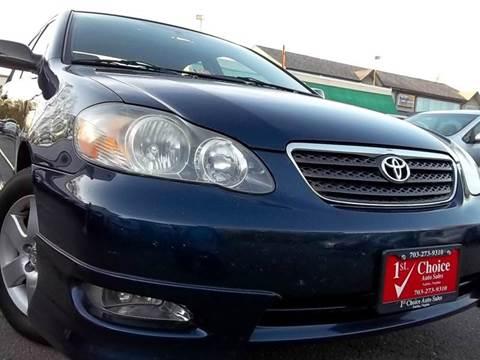 2007 Toyota Corolla for sale in Fairfax, VA