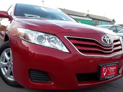 2011 Toyota Camry for sale in Fairfax, VA