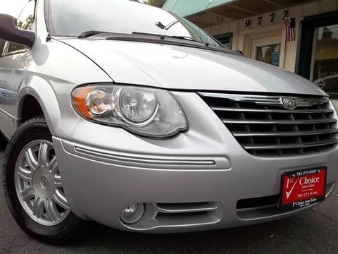 2005 Chrysler Town and Country for sale in Fairfax, VA