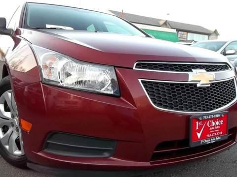 2012 Chevrolet Cruze for sale in Fairfax, VA