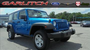 2016 Jeep Wrangler Unlimited for sale in North Vernon, IN