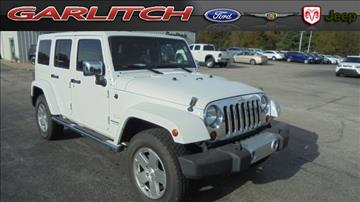 2011 Jeep Wrangler Unlimited for sale in North Vernon, IN