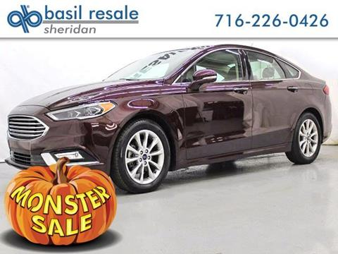 2017 Ford Fusion for sale in Williamsville, NY