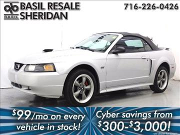 2002 Ford Mustang for sale in Williamsville, NY