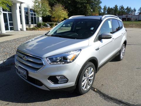 2018 Ford Escape for sale in Rochester, NH