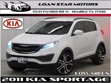 2011 Kia Sportage for sale in Houston, TX